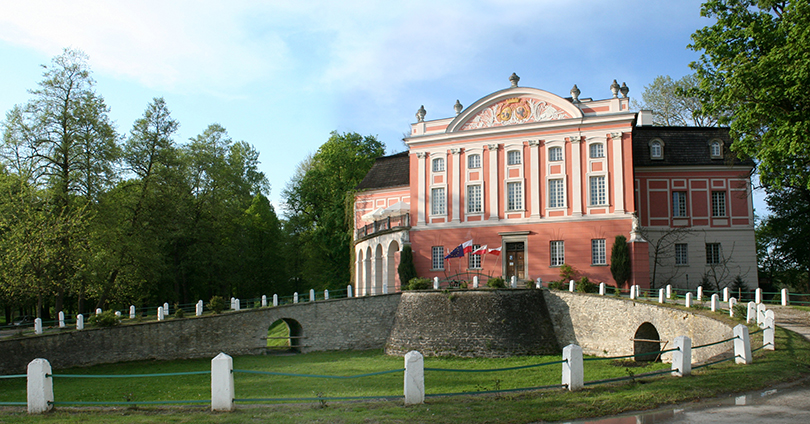 Czapski w Pałacu w Kurozwękach