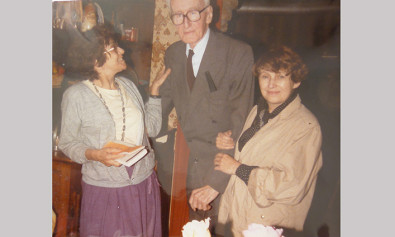 Krystyna Zachwatowicz i Józef Czapski