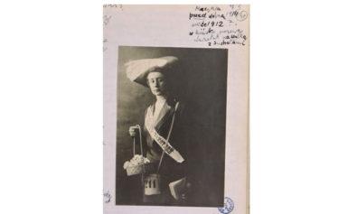 Maria Czapska, 1912