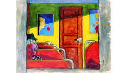 Kolorowy obraz Józefa Czapskiego