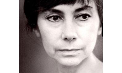 Joanna Pollakówna czarno białe zdjęcie poetki