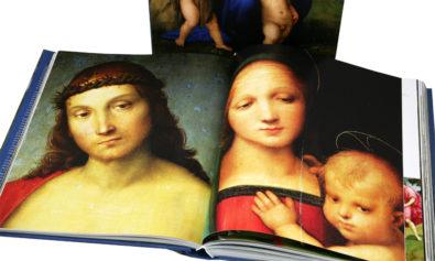 Rafael Santi kolorowe zdjęcia obrazu