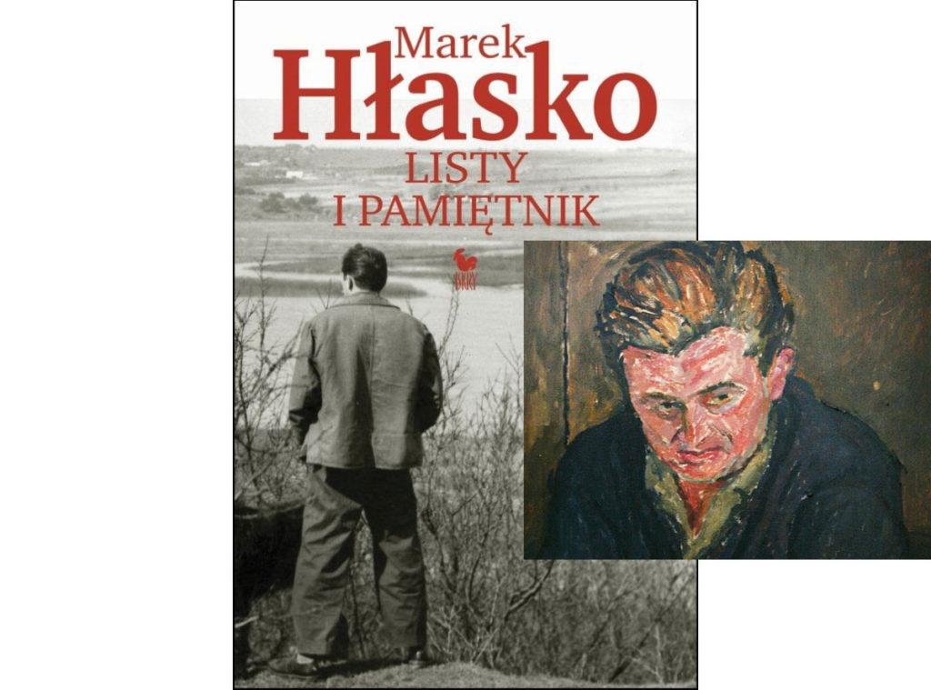 okładka książki listy i pamiętnik Marka Hłaski