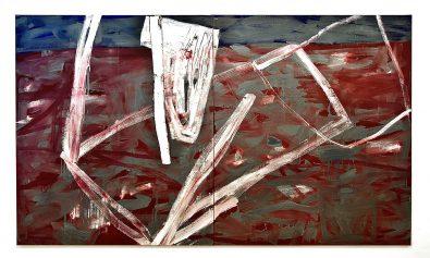 obraz abstrakcyjny Marka Szczęsnego
