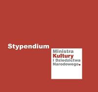 Logo kolorowe stypednium Ministra Kultury
