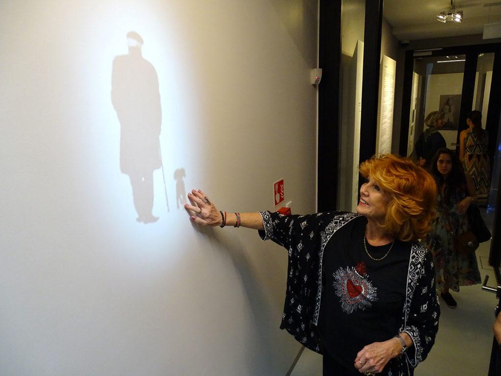 aktorka rula lenska w pawilonie józefa czapskiego w krakowie. fot. Ela Skoczek